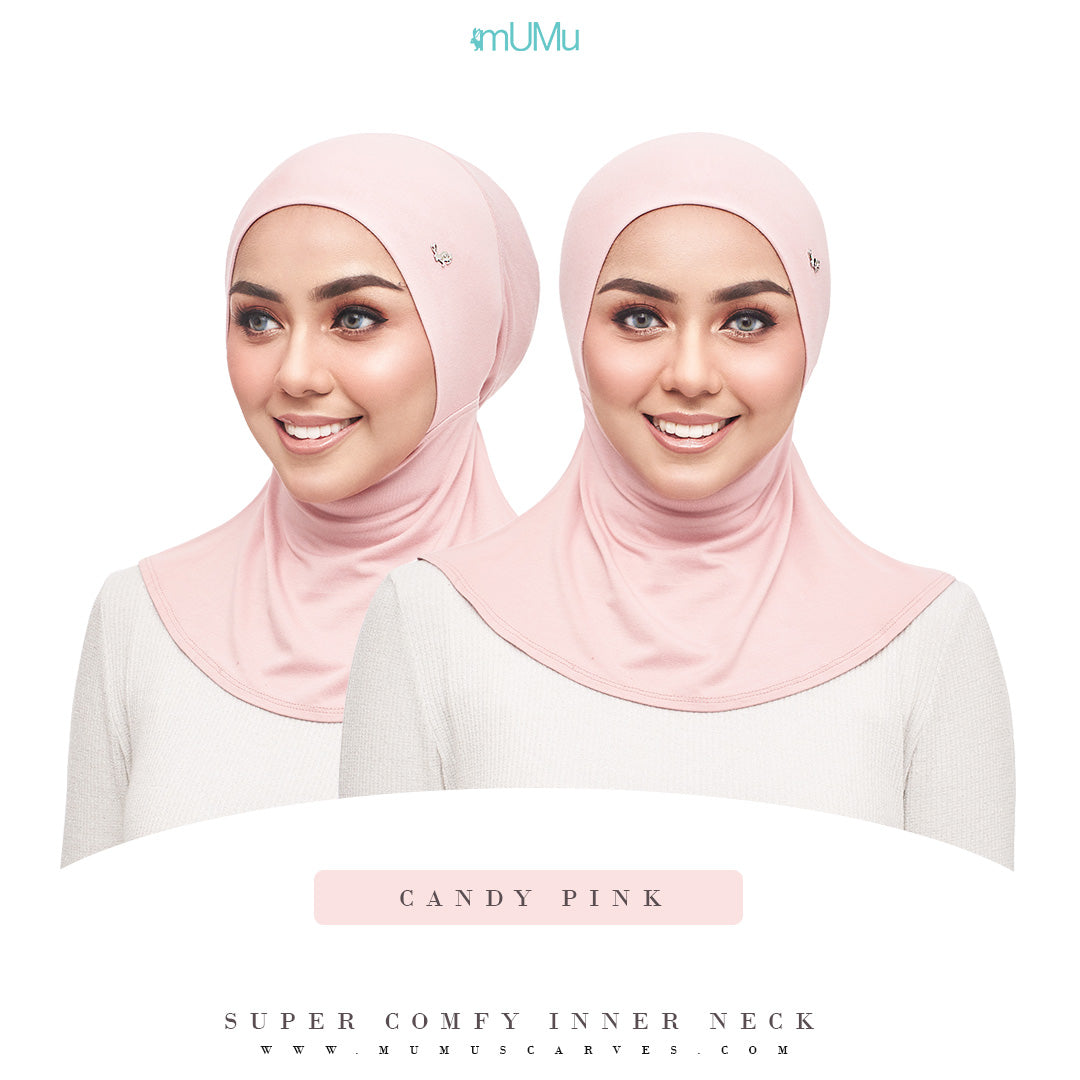 Super Comfy Inner Neck - Candy Pink