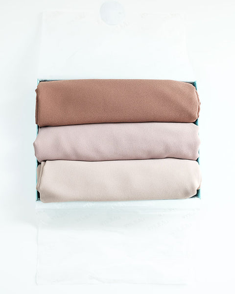 mUMu ESSENTIAL SHAWL 2018 (SET)- TURUN TEMURUN