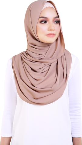 MUMU CHIFFON PREMIUM IN HAZELNUT CHOCOLATE