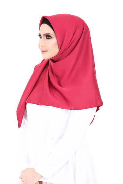 Bawal Satin Mahsuri Red