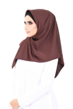 Bawal Satin Sofea Brown