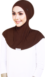 SUPER COMFY INNER NECK ROUND SHAPE IN NUTELLA BROWN