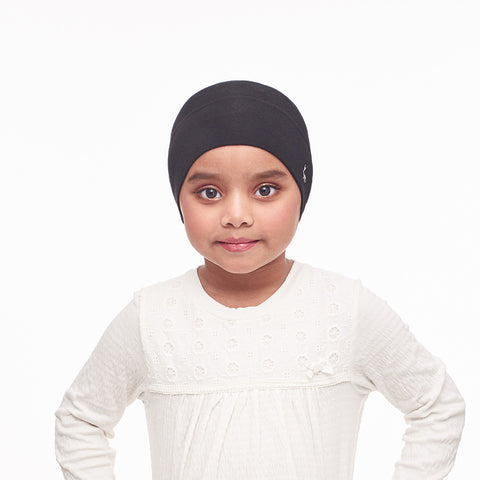 mUMu Snow Cap Inner Kids - Diamond Black