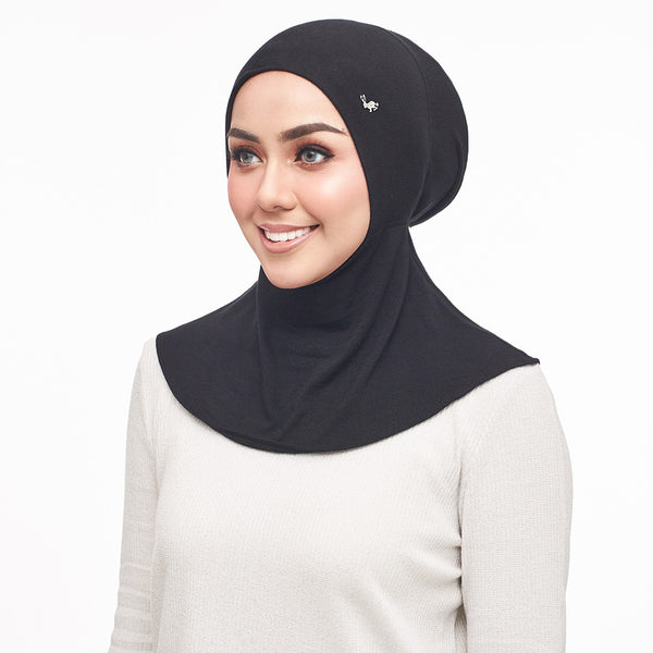 Super Comfy Inner Neck Round - Diamond Black