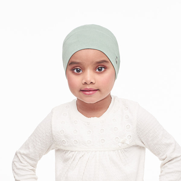 mUMu Snow Cap Inner Kids - Dusty Green