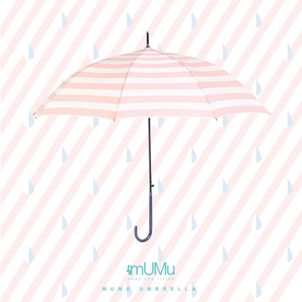 MUMU UMBRELLA IN COTTON CANDY PINK