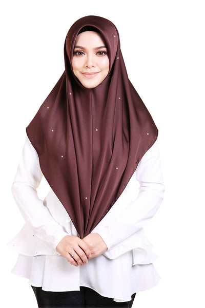 Mumu X Sari Yanti Bawal Diamond Series in Famous Brown