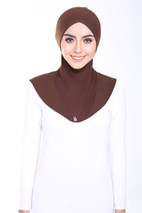 Mumu Viscose Super Comfy V Inner in Brownies Brown