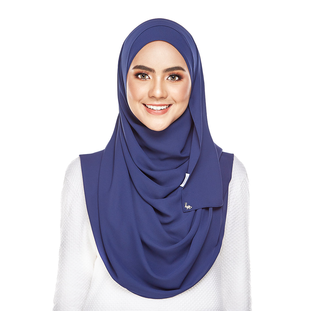 mUMu Premium Basic Shawl - Navy