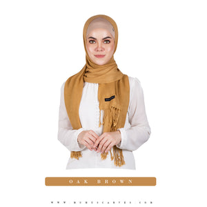 mUMu Pashmina Shawl - Oak Brown