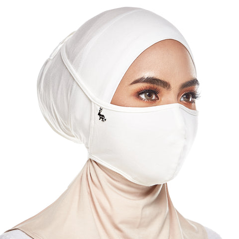 mUMu Face Mask - Pearl White