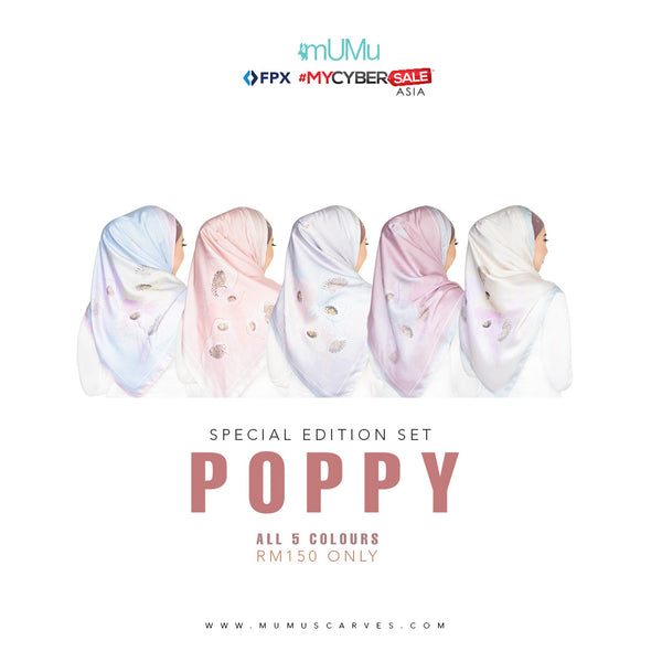 LIMITED EDITION POPPY BOX SET 6