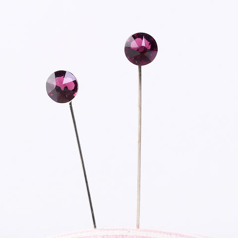 Mumu Hijab Pins in Purple, Dark Pink & Hazel