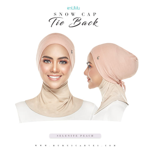 mUMu Snow Cap Tie Back Inner - Selenite Peach