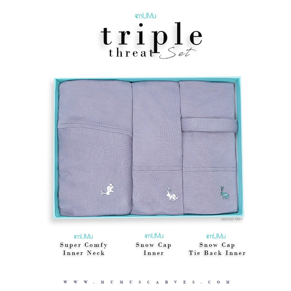 MUMU TRIPLE THREAT LIMITED EDITION SET 1