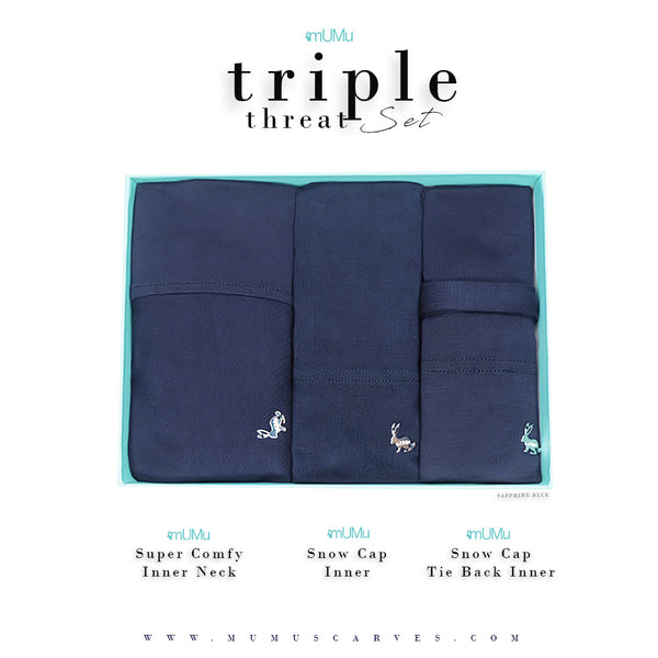 MUMU TRIPLE THREAT LIMITED EDITION SET 2