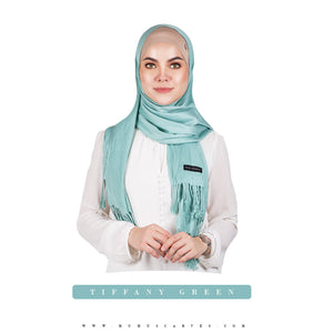 mUMu Pashmina Shawl - Tiffany Green