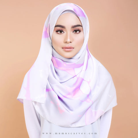 Marble Series - Shawl Edition in Grey Marble