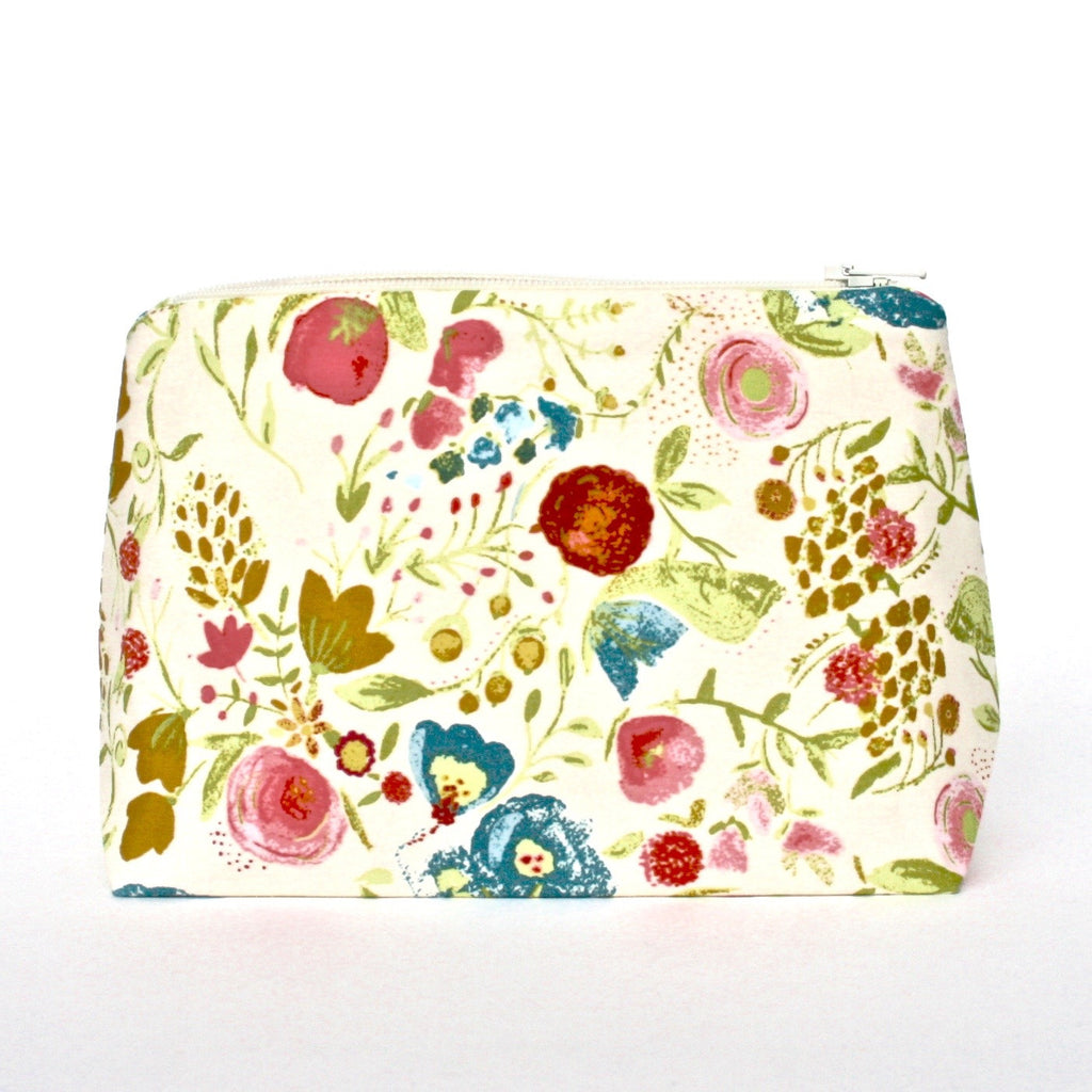 Painted Garden Floral Bag