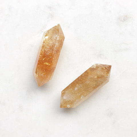 Double Terminated Gemstone Points