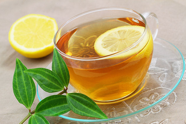 Lose Weight With Lemon + Tea 🍋
