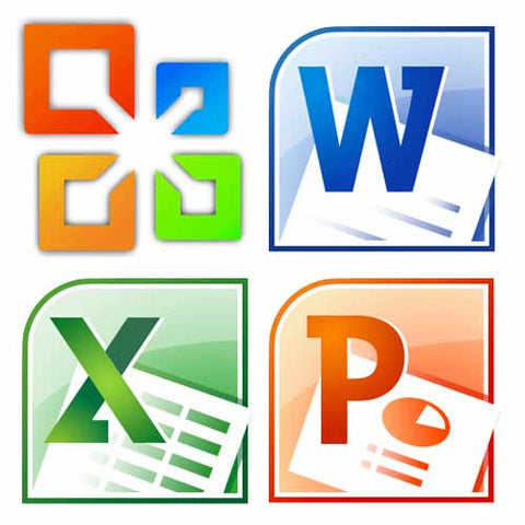 Microsoft Office Suite - Word, Excel & PowerPoint