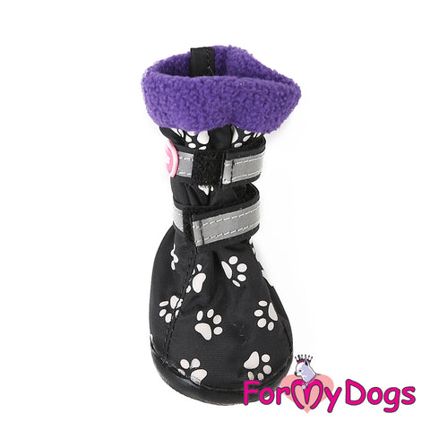 Paw Print Boots Sizes 3 & 4