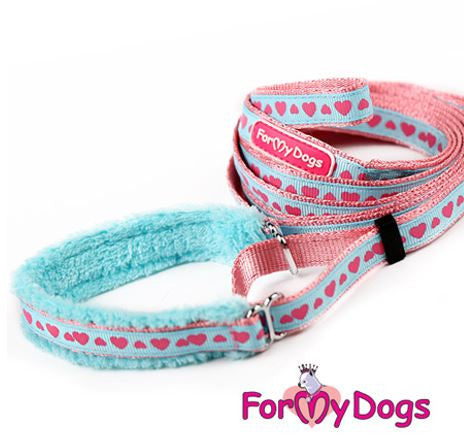 Versatile Collar and Lead Set In Pretty Pastel