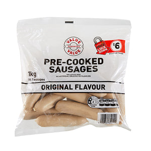 Countdown Pre-Cooked Sausages 1kg