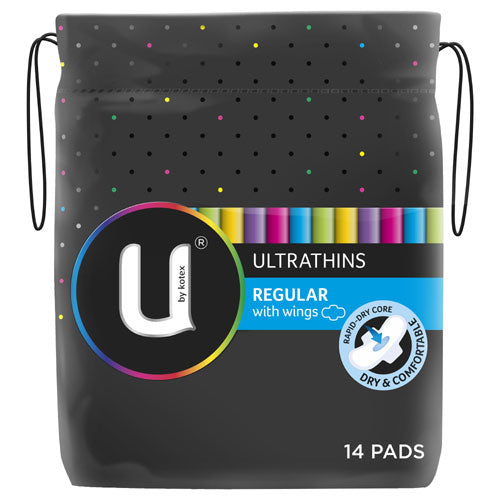 U By Kotex Ultra Thins Pads Regular 14pk