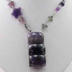 handmade semi-precious amethyst online necklaces uk