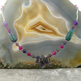 agate handmade necklace