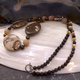 uk crafted jasper jewellery necklace
