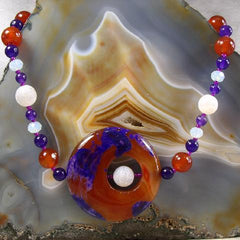 agate handcrafted semi-precious jewellery uk