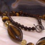 detail for tigers eye necklace uk