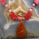 agate pendant necklace uk
