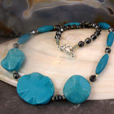 unique turquoise necklace uk