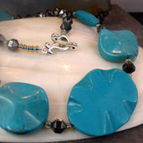 turquoise gemstone bead jewellery