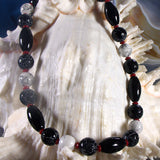 handmade semi-precious stone necklace design