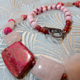 rose quartz gemstone beads