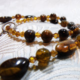 tigers eye semi-precious beads