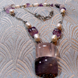 short semi-precious necklace design