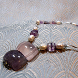short handcrafted semi-precious necklace uk
