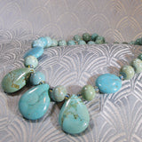 handmade turquoise necklace design