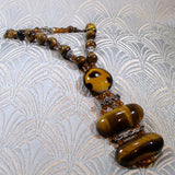 short tigers eye necklace jewellery uk