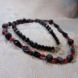 long semi-precious stone jewellery necklace