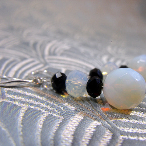 Quartz Handmade Gemstone Earrings