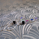 handmade crystal earrings uk