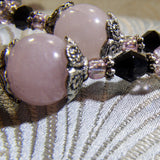 rose quartz bead
