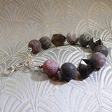 unique smoky quartz gemstone necklace design